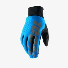 New 100% Hydromatic Brisker Gloves Blue Motocross